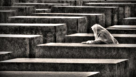 Holocaust Memorial in Berlin by Ralf E. Staerk
