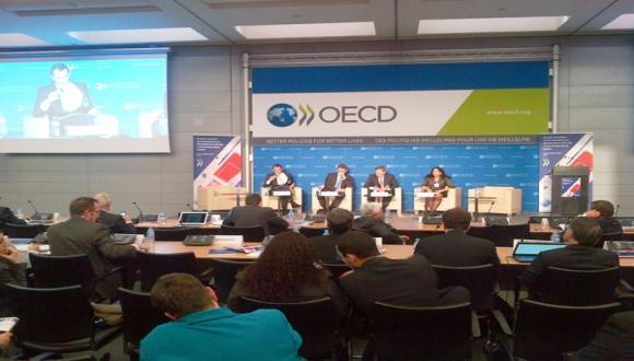"""הרצאה: הצגת הדו""""ח הכלכלי של ה- OECD על ישראל 2013"""