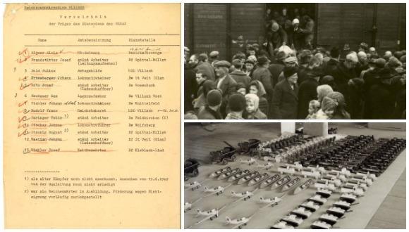 תערוכה: שנים מודחקות: הרכבת והנציונל-סוציאליזם באוסטריה 1938 - 1945